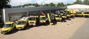 K&W Autokrane Flotte