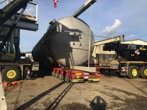 K&W Autokrane Schwertransporte